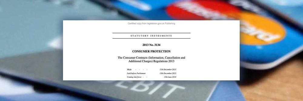 Changes to the Consumer Contracts Regulations 2013