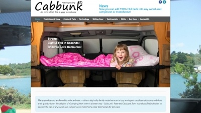 Cabbunk Website by Big Decision