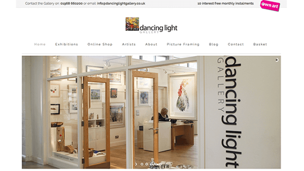 Dancing Light Gallery