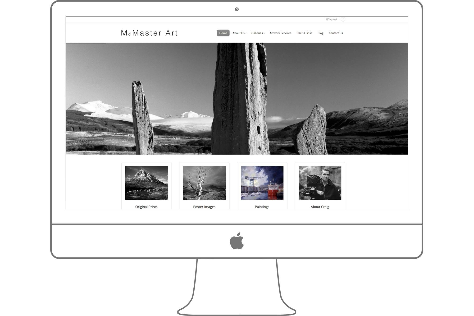 McMaster Art Website by Big Decision