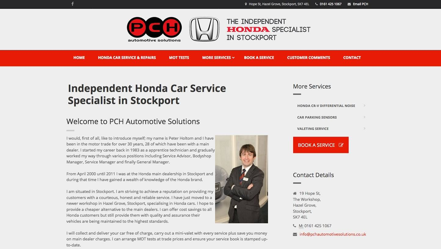PCH Automotive Solutions - Car Specialist // Work // Big