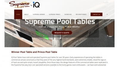 Supreme Pool Tables