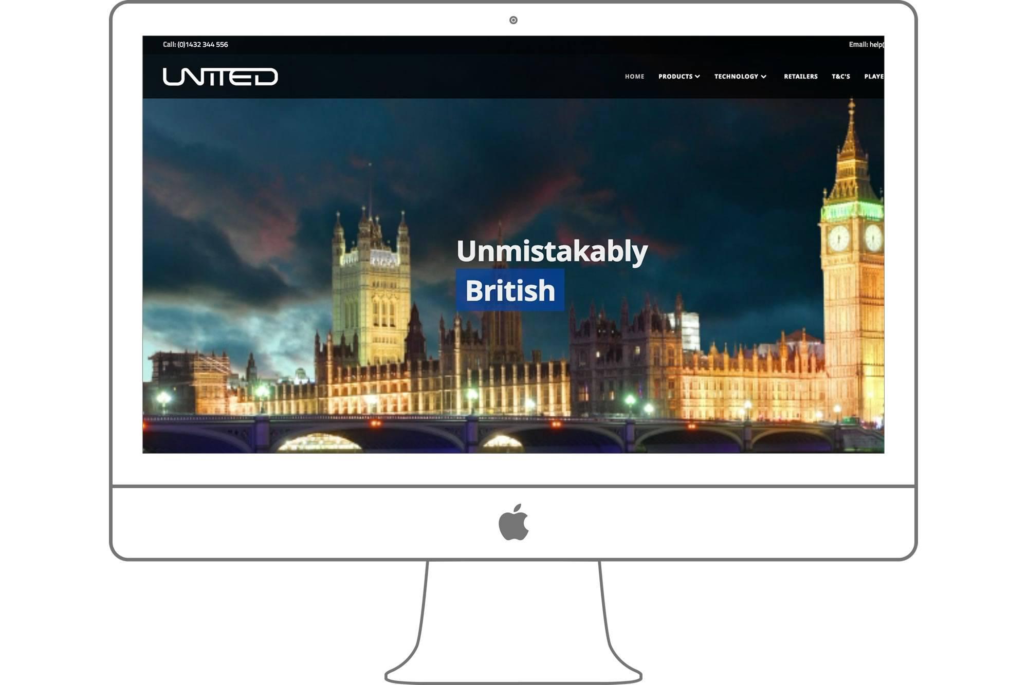 United Golf Website by Big Decision
