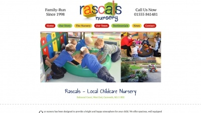 Rascals Nursery Website By Big Decision