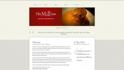 The Mill Inn Website by Big Decision