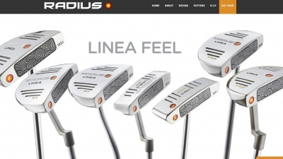 Radius Putters Website by Big Decision