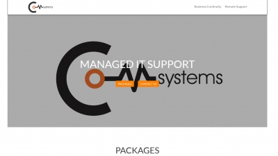 Com Systems Website By Big Decision
