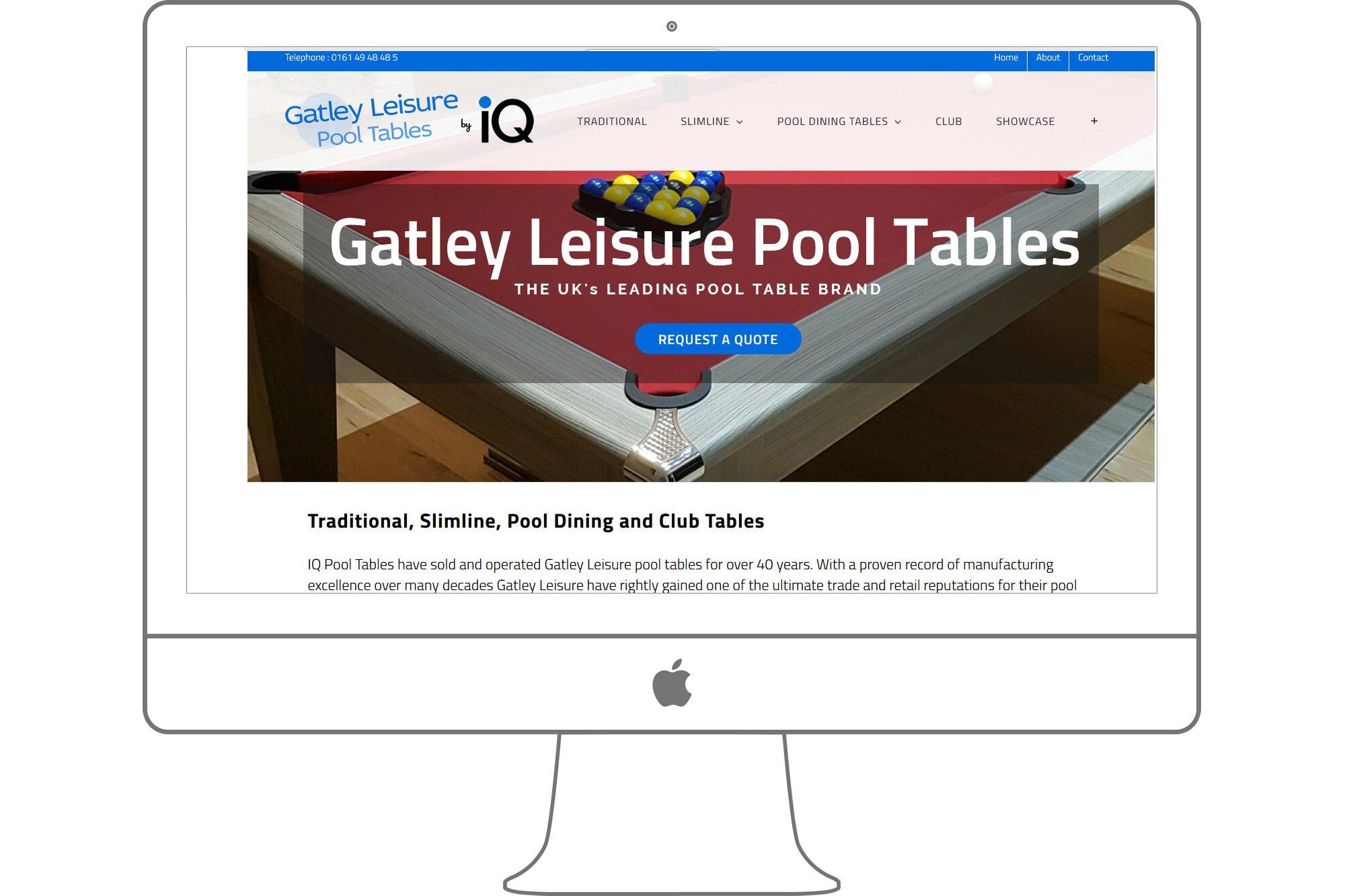 Gatley Lesiure Pool Table