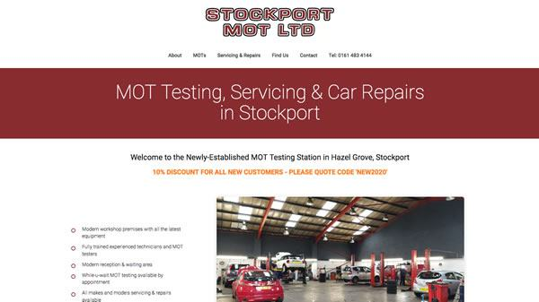 Stockport MOT Ltd