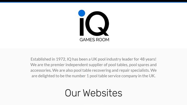 IQ Games Room