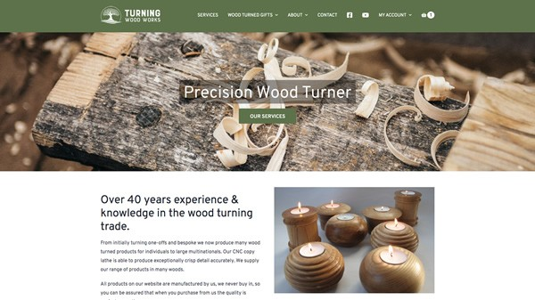 Turning Wood Works - Wood Turning Specialists